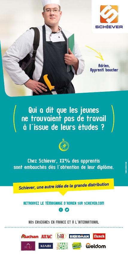 Adrien, Apprenti boucher