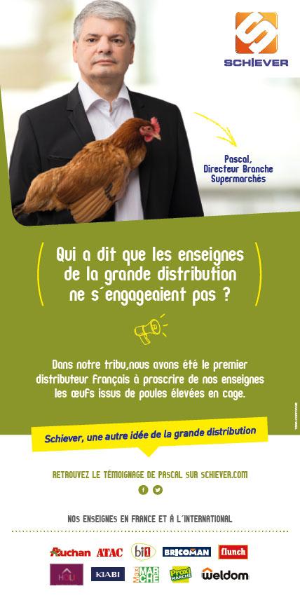 Pascal, Directeur Branche supermarchés
