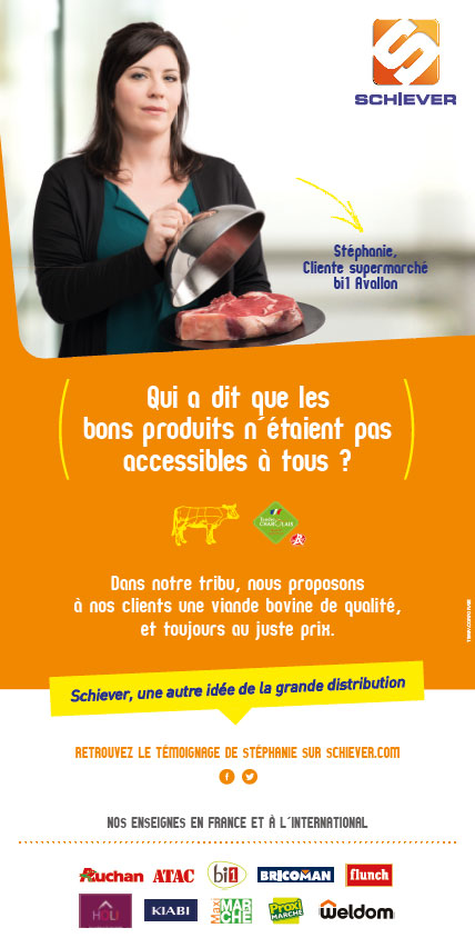 Stéphanie, Cliente supermarché Bi1 Avallon